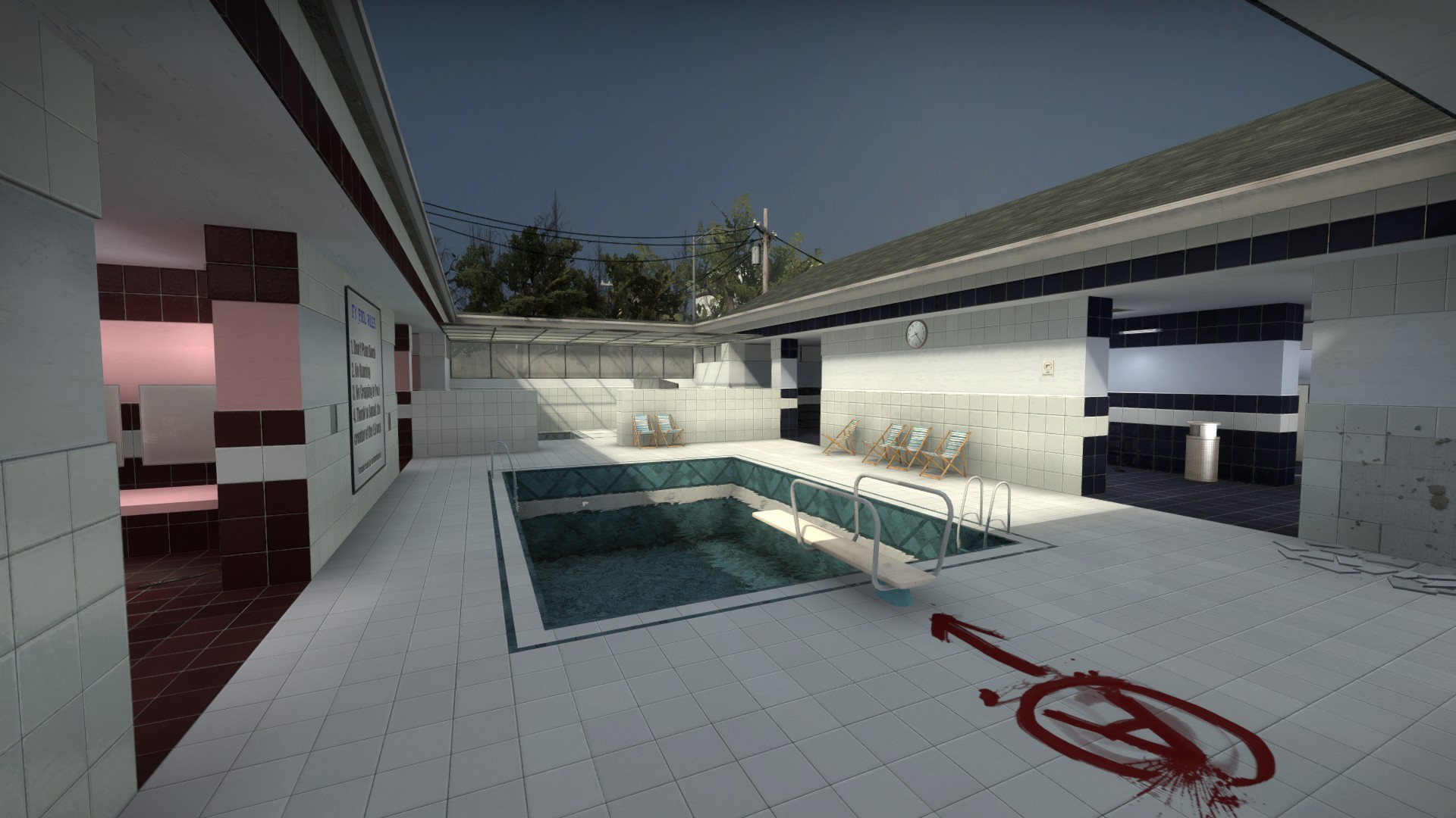 Карта fy_pool_day CSGO